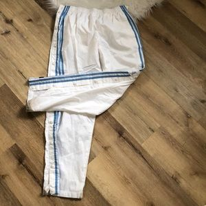 Women's Adidas Lined Track Pants, Size L